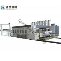 Wholesale High Precision Flexo Printer Slotter Machine 150 Sheets/Min With Lead Edge Feeding from china suppliers