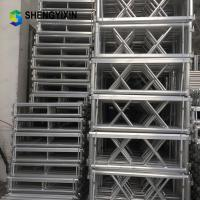 Buy cheap Assembly folding aluminum outdoor stage portable for stage system for event wedding concert from wholesalers