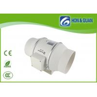 Buy cheap 115V / 230V 6 inch Inline duct fan with timer function double speed control from wholesalers