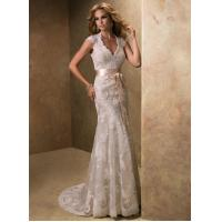 Designer Hot Sales New White/Ivory Lace Wedding Dress Custom Size Bridal Gowns Manufactures