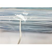 Wholesale 3mm PE coated steel wire nose bridge bar for supporting medical face mask from china suppliers