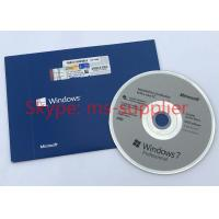 Wholesale Original Windows 7 Pro Pack 64 Bit Full Version , Microsoft Windows 7 Professional DVD from china suppliers