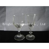 Buy cheap hot sale clear wine glass Glass Goblets Glassware for wholesale from wholesalers