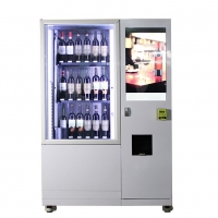 Buy cheap 22 inch Interactive Touch Screen Electronic Vending Machine for Beverage champagne sparkling wine beer spirit from wholesalers