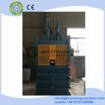 Buy cheap Lifting Door Cardboard baling press machine/safety door plastic bottle baler/sliding door waste paper compress baler from wholesalers