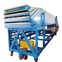 Buy cheap Logistic Loading Parcel Telescopic Gravity Roller Conveyor from wholesalers