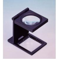 Buy cheap Convenient Folding Type Magnifying Glass For Inspecting Cloths 14mm Base from wholesalers