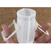 Buy cheap Convenient Hanging Ear Disposable Coffee Filter Bags With Heat Seal Packaging from wholesalers