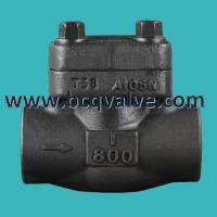 Buy cheap Forged Stainless Steel Flange Butt Welded LIFT Check Valve pn16 from wholesalers
