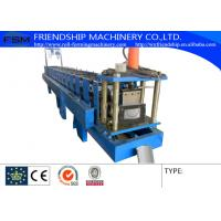 Buy cheap 0.4-0.8mm Thickness Color Aluminum Half Round Gutter Roll Forming Machine from wholesalers