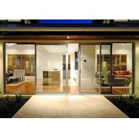 Buy cheap Functional System Aluminium Alloy Sliding Glass Doors With Undisturbed Views from wholesalers