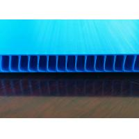 Buy cheap Environmentally Friendly Recyclable Fluted Plastic Sheets For Multi Purpose Applications from wholesalers