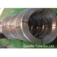 Buy cheap TP316L Annealed stainless steel tubing coil Seamless ASTM A269 OD 1/4'' X 0.035'' from wholesalers