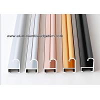 Buy cheap Metal Modern Type Aluminium Picture Frame Mouldings With Narrow Curved Shape from wholesalers