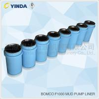 Buy cheap Steel Triplex Mud Pump Expendables Liner Chromium Content 26-28% Bomco F1000 from wholesalers