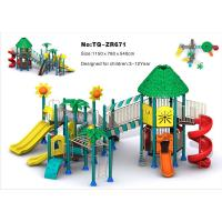 Buy cheap Combined Slide Children'S Outdoor Playground Equipment For Amusement Park from wholesalers