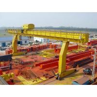 Buy cheap YUANTAI construction machinary from china single girder gantry crane from wholesalers