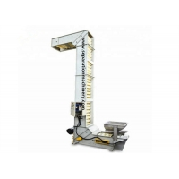 Buy cheap Automatic Vertical Z Bucket Elevator Conveyor For Wheat Corn Grains from wholesalers