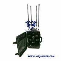 Buy cheap Multi Band Portable GPS WiFi 3G 4G 5g GSM Cell RF Bluetooth Jammer with light weight from wholesalers