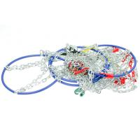 Buy cheap 9mm D Type Tire Snow Chains Snow Chains For Cars , Corrosion - Resistant from wholesalers