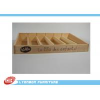 Buy cheap Kids Toys Wood Countertop Display For Promotion , Retail Display Shelves from wholesalers