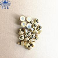 Wholesale Copper low pressure water misting nozzle for mist cooling system from china suppliers