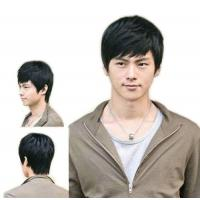 Fashion Men's Short Layered Wig Manufactures