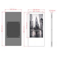 Buy cheap TF/USB Storage Wall Mounted Digital Signage LCD Advertising Player AC100V-240V from wholesalers