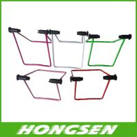 Buy cheap U shape stainless steel material bicycle parking rack from wholesalers