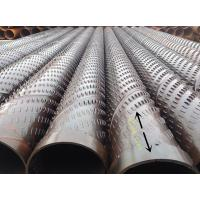 Buy cheap bridge slotted well screen stainless steel pipe for deep wells from wholesalers