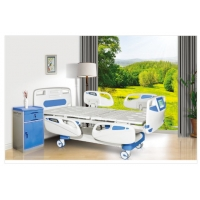 Buy cheap Corrosion Resistant Adjustable Beds Hospital Style With Side Rails from wholesalers