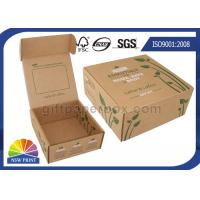Wholesale Printed Brown Corrugated Mailer Box kraft paper gift boxes Beauty Product Packaging from china suppliers