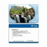 Buy cheap Pre-printed PVC Card with Serial Number Thermal Printing and Double Side Lamination from wholesalers