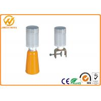LED Flashing Yellow Amber Traffic Safety Equipment Warning Lights for Road Safety Barricade