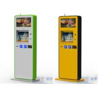 Buy cheap Infrared Touch Screen Information Kiosk With Fingerprinte Reader All In One PC from wholesalers