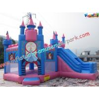 Buy cheap Princess Waterproof Inflatable Party Bouncers With PVC For Water Park product