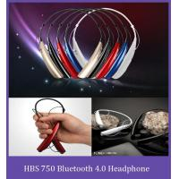 Buy cheap HBS750 Neckband Noise Canceling Bluetooth Headphone support music, calling,multipoint connection from wholesalers