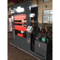 Buy cheap Four Cavities Automatic Vulcanizing Machine Tiles Making Machine With Steam Heating product