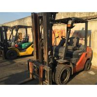 Buy cheap Red Color 3 Ton Used Container Toyota Forklift 7FD30 With Middle Cylinder and Side Shifter from wholesalers