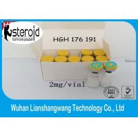 Buy cheap HGH Fragment 176-191 Fat Burning Steroids White Powder 2mg / vials 99% Min Assay from wholesalers