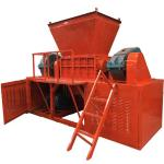 Buy cheap Double Shaft 0.4t/H 30kw Paper Shredder Machine from wholesalers