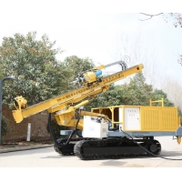 Buy cheap Jet Grouting 50m To 200m DTH Auger Drilling Rig Full Hydraulic from wholesalers