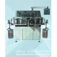 Automatic double flyer armature winder lap winding machine for DC and AC motors 4poles rotor making  WIND-STR c Manufactures