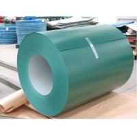 Buy cheap Prime PPGL Pre Painted Steel Galvalume Coils With HDP Coating For Steel Windows product