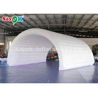 Buy cheap 6*3*3m White Inflatable Tunnel Tent Durable Oxford Cloth For Event Easy To Clean from wholesalers