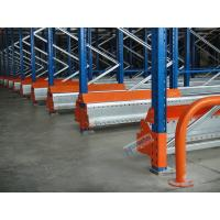 Wholesale Semi Automatic Radio Shuttle System High Density Pallet Storage Q235B Meterial from china suppliers