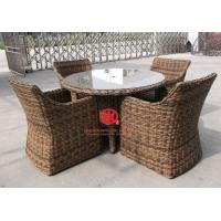 High End Hotel Garden Dining Set Wooden Table And Chairs Manufactures
