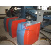 Buy cheap Three Roll Calender Plastic Sheet Extrusion Line , PVC Plastic Roof Sheet Extrusion Machine from wholesalers