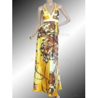 Buy cheap Deep V Neck Halter Dress Free Shipping from wholesalers