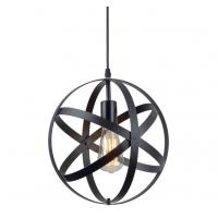 Buy cheap Industrial Metal Spherical Pendant Light / Rustic Chandelier Vintage Hanging Cage Globe Ceiling Light from wholesalers